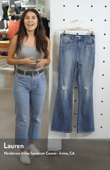 Good Flare Ripped Jeans, sales video thumbnail