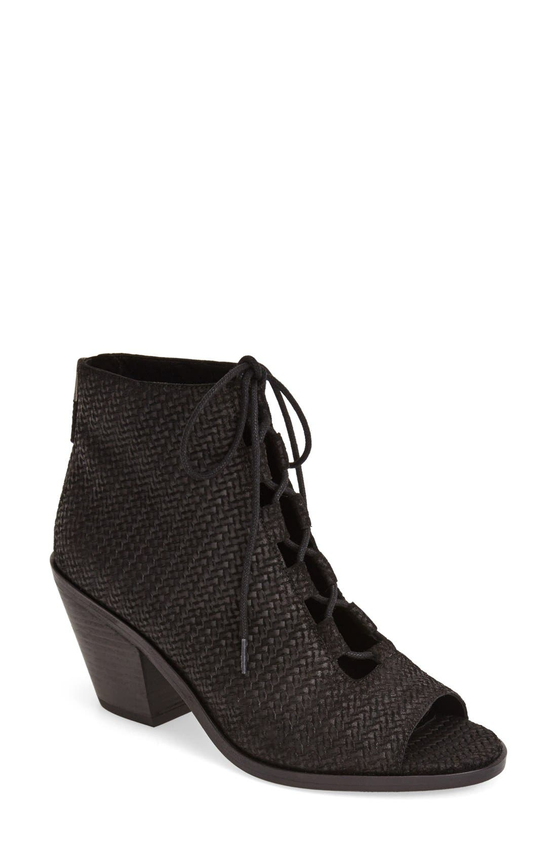Eileen Fisher 'Slew' Lace Up Bootie