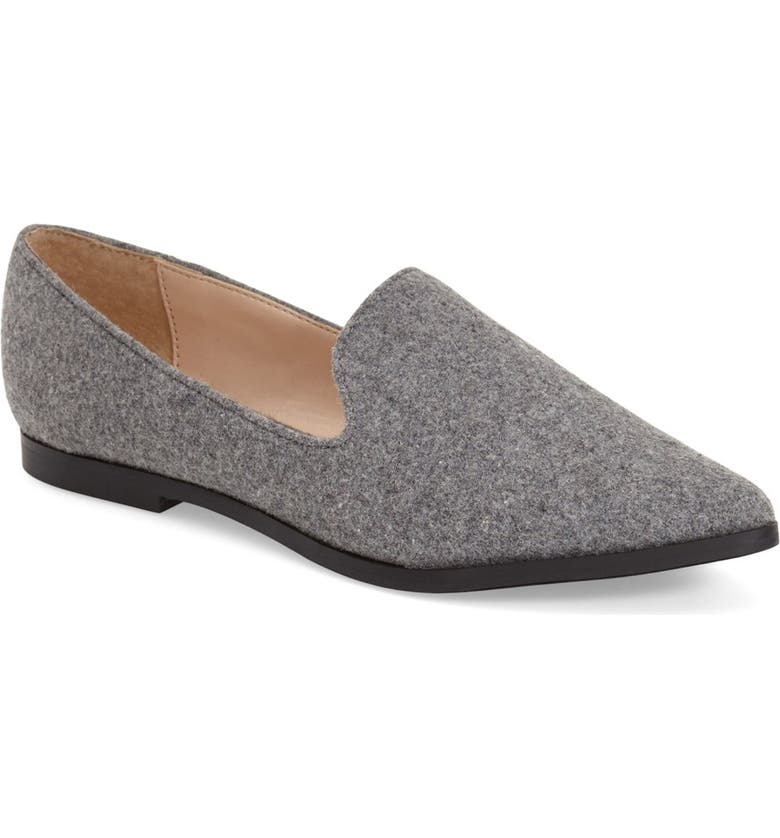SOLE SOCIETY 'Bela' Pointy Toe Loafer, Main, color, 063