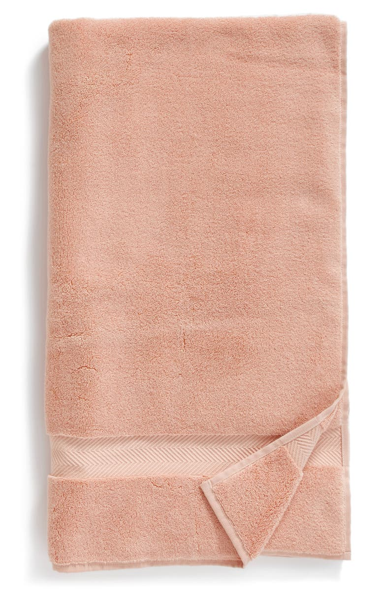 NORDSTROM Hydrocotton Bath Towel, Main, color, PINK HERO
