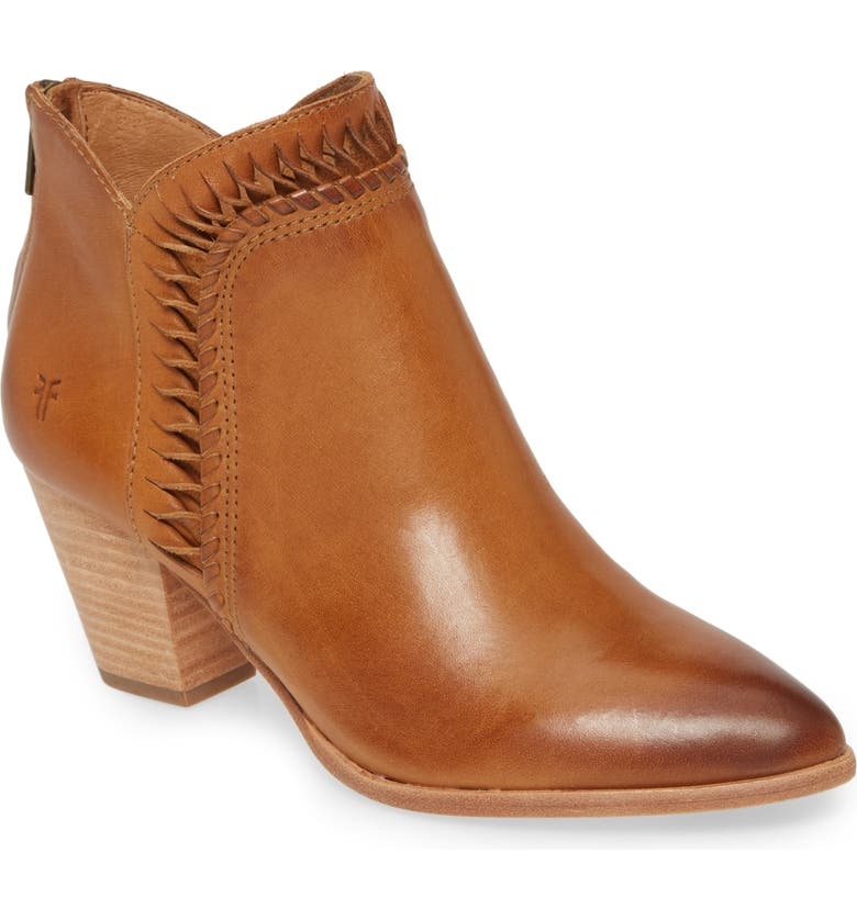 FRYE Reed Bootie, Main, color, TOBACCO