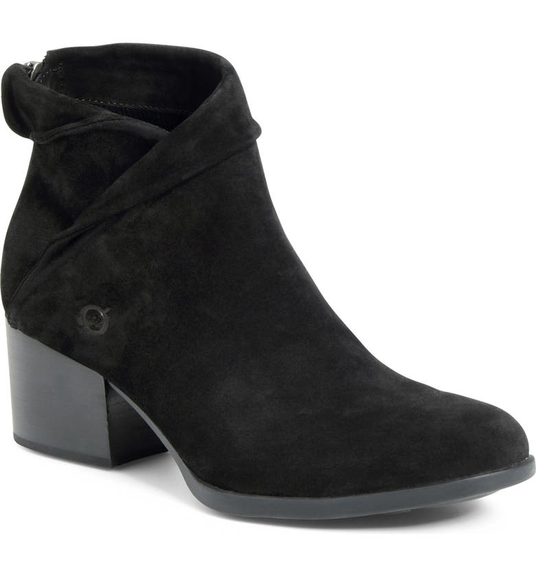 BØRN Abbe Fold Over Cuff Bootie, Main, color, 001