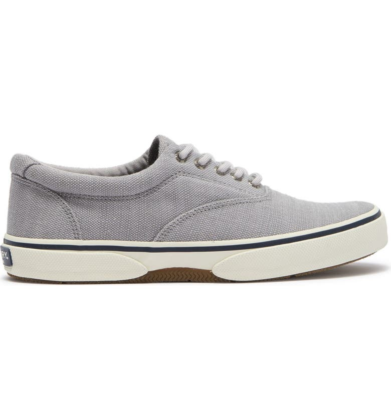 SPERRY Halyard CVO Lace-Up Sneaker, Main, color, GREY