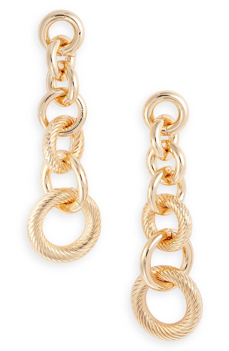 8 OTHER REASONS x Jenn Im Mulholland Earrings, Main, color, GOLD