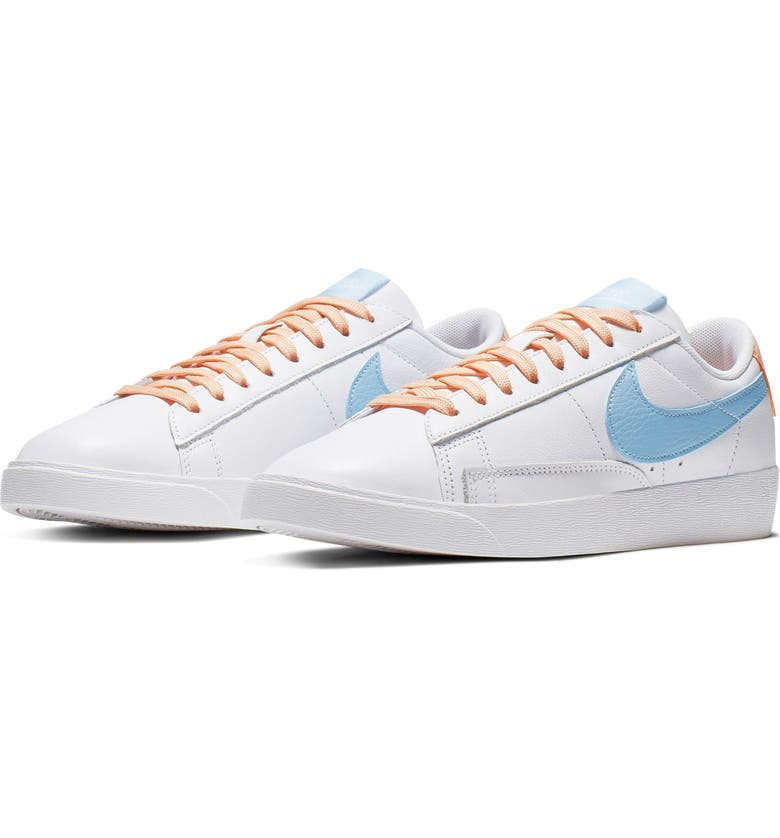 NIKE Blazer Low LE Basketball Shoe, Main, color, 104