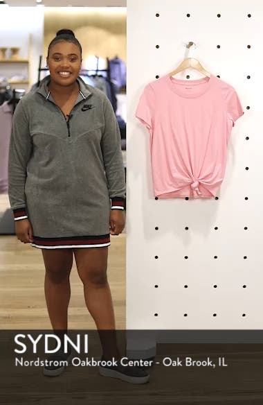 Knot Front Tee, sales video thumbnail