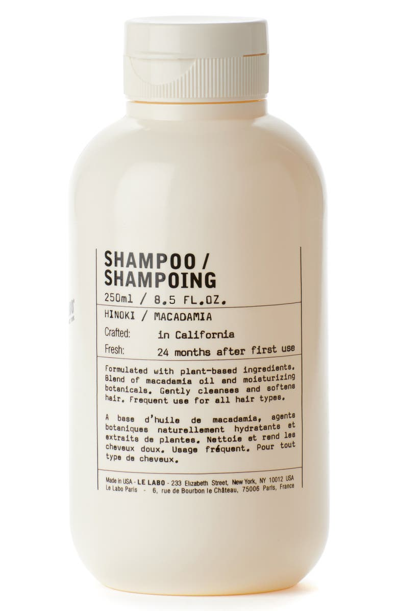 LE LABO Hinoki Shampoo, Main, color, NO COLOR