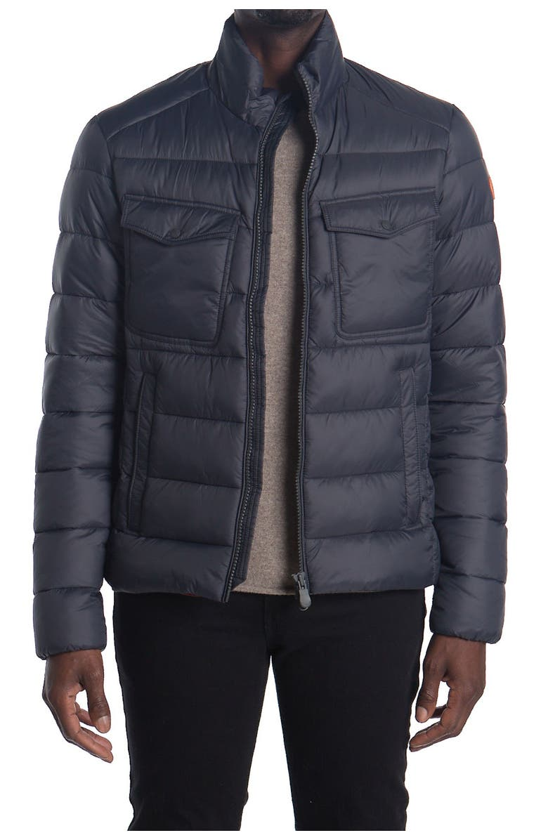 SAVE THE DUCK Quilted Puffer Jacket, Main, color, 1177 GREY