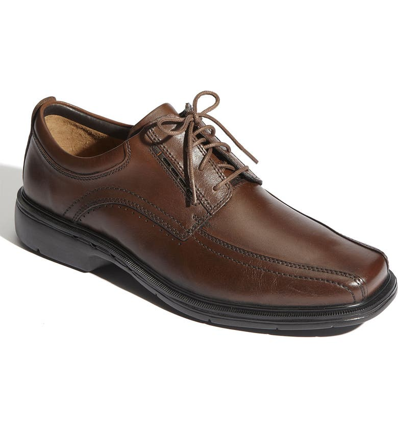 CLARKS<SUP>®</SUP> 'Un.Kenneth' Oxford, Main, color, BROWN LEATHER