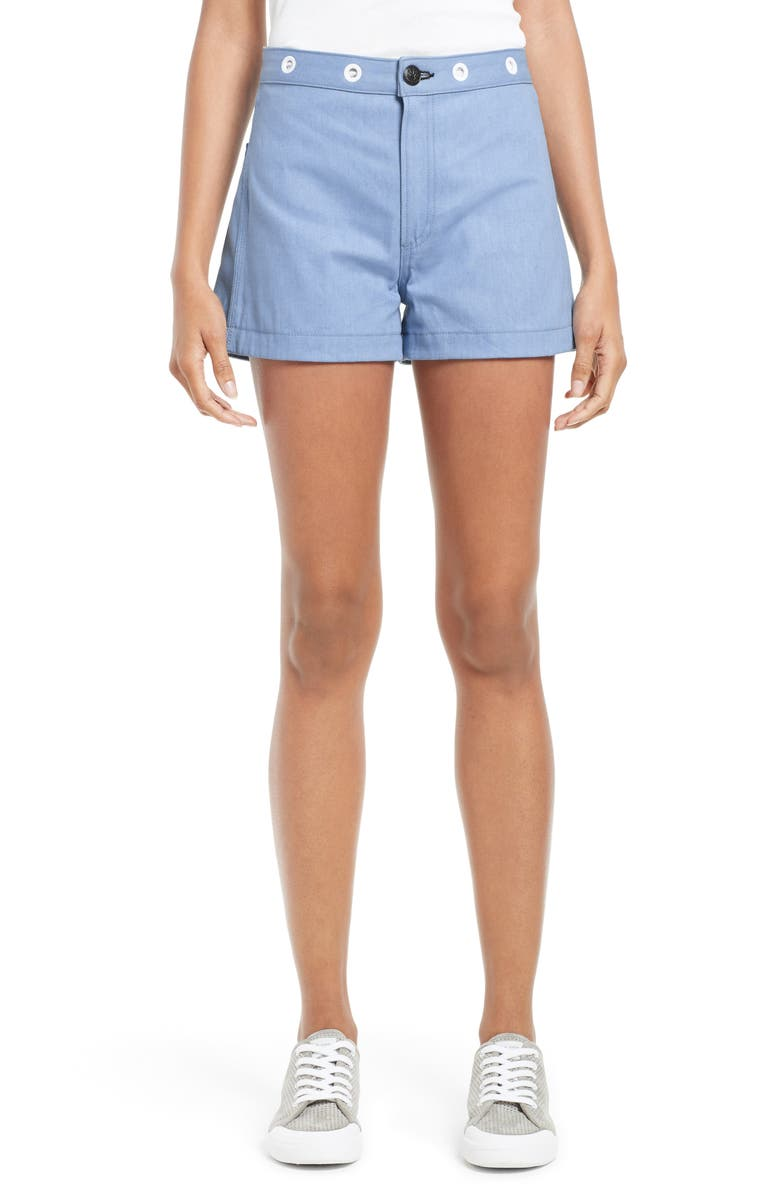 RAG & BONE Denim Shorts, Main, color, 494