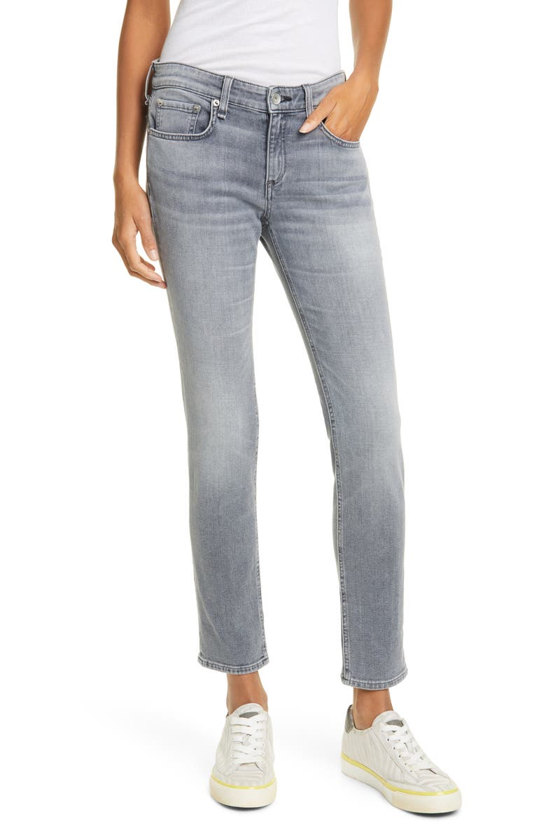 RAG & BONE Dre Slim Boyfriend Jeans, Main, color, 020
