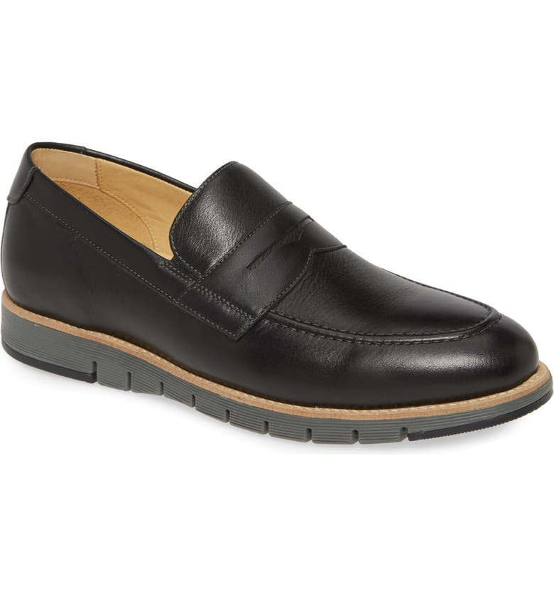 JOHNSTON & MURPHY Martell Penny Loafer, Main, color, 001