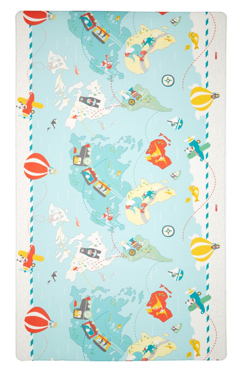 SKIP HOP Reversible Double Play Play Mat, Main, color, 020