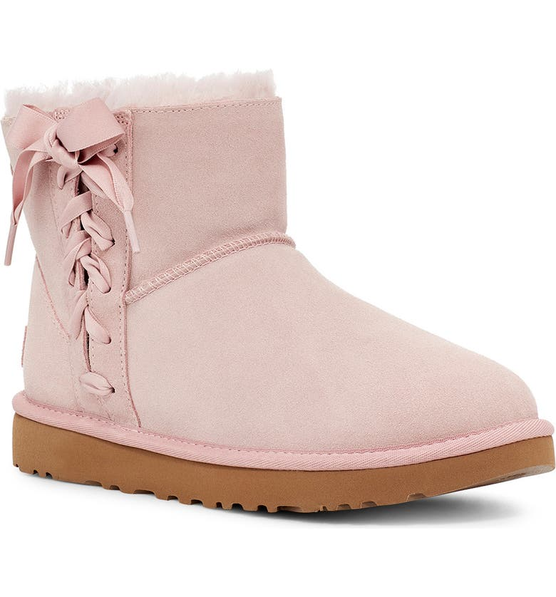 UGG<SUP>®</SUP> Classic Lace-Up Mini Boot, Main, color, 687