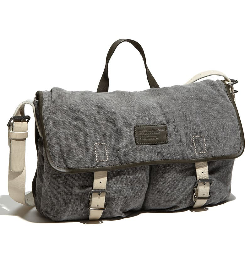 MARC BY MARC JACOBS Washed Canvas Messenger Bag, Main, color, 060