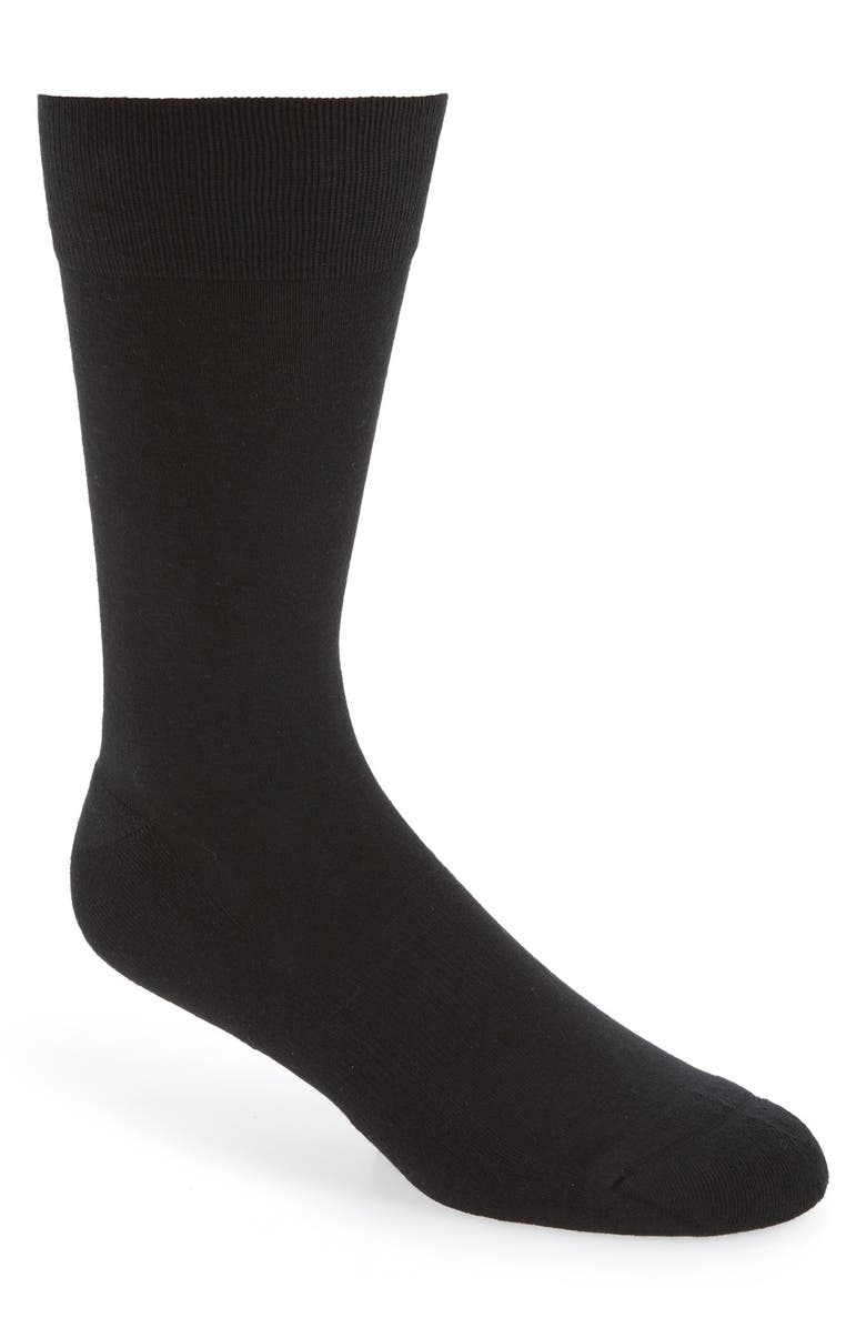 NORDSTROM Cushion Foot Arch Support Socks, Main, color, 001