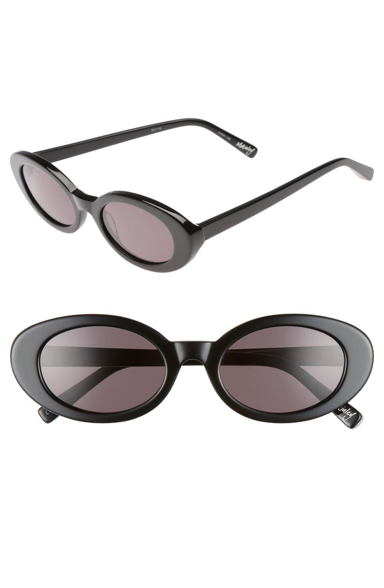 ELIZABETH AND JAMES McKinely 51mm Oval Sunglasses, Main, color, 001