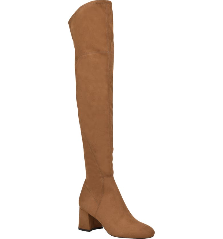 MARC FISHER LTD Yahila Over the Knee Boot, Main, color, SELLA FAUX SUEDE