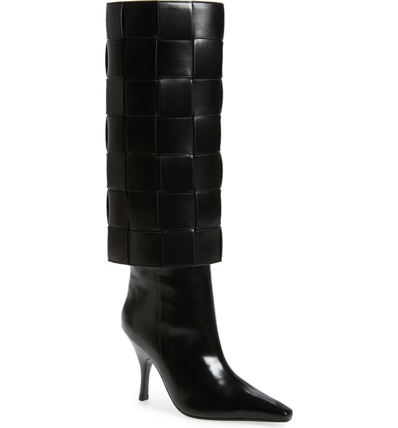 JEFFREY CAMPBELL Skelter Knee High Boot, Main, color, 001