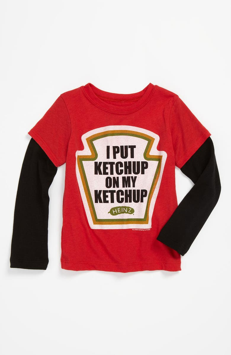 MIGHTY FINE 'I Put Ketchup' Tee, Main, color, RED