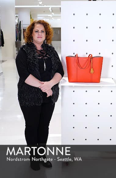 Perry Leather Tote, sales video thumbnail