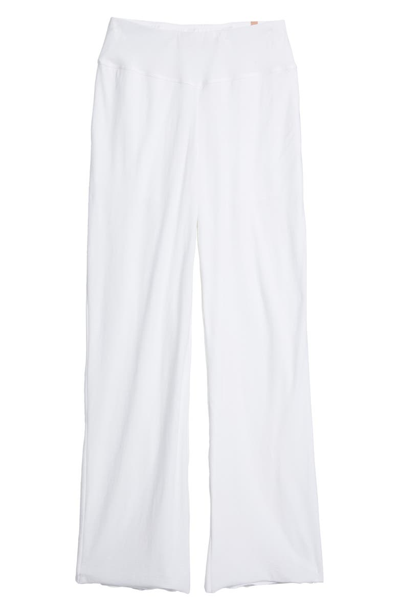 LUNYA Cool High Waist Pajama Pants, Main, color, SINCERE WHITE