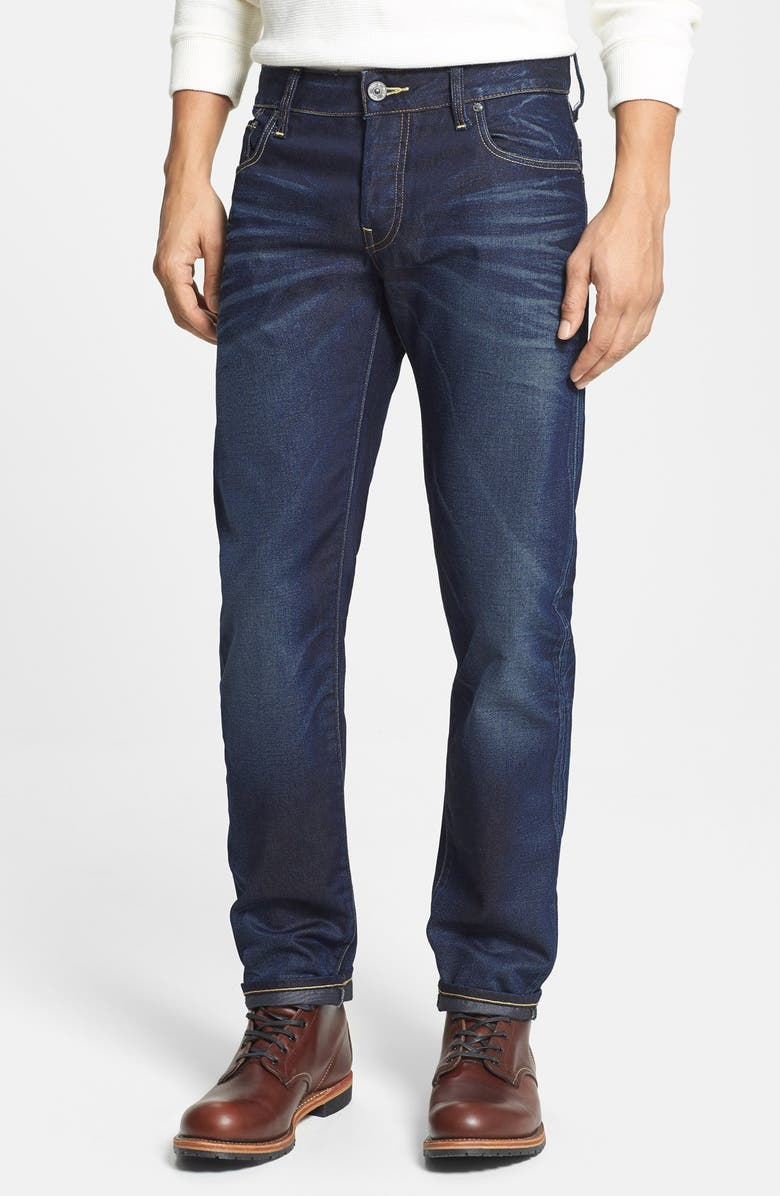 G-STAR RAW '3301 Lexicon' Slim Fit Jeans, Main, color, 404