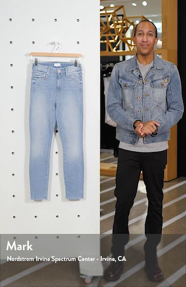 The Looker High Waist Ankle Skinny Jeans, sales video thumbnail