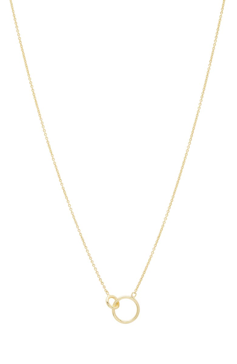 GORJANA Wilshire Connected Loop Necklace, Main, color, GOLD