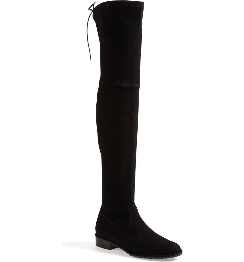 STUART WEITZMAN 'Lowland' Over the Knee Boot, Main, color, 001