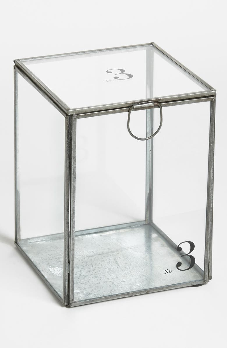 TORRE & TAGUS 'Alchemy - No. 3' Decorative Glass Container, Main, color, 000