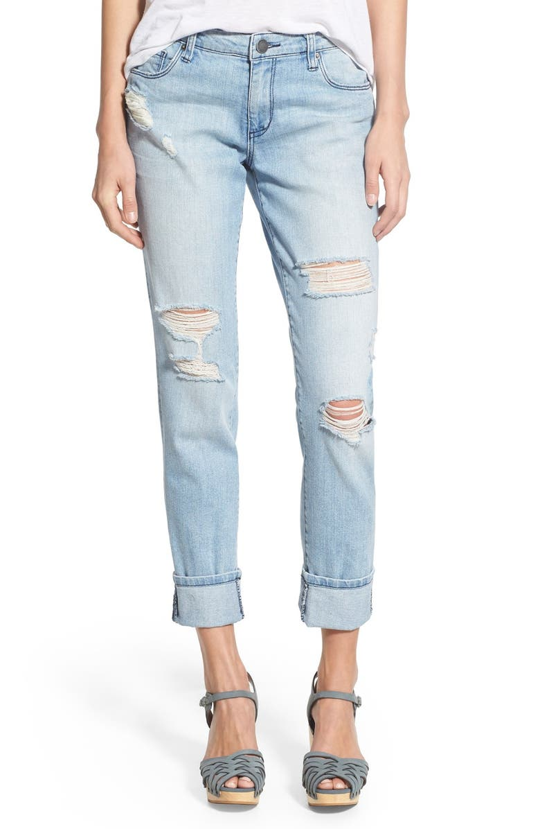 STS BLUE 'Taylor' Distressed Jeans, Main, color, 404