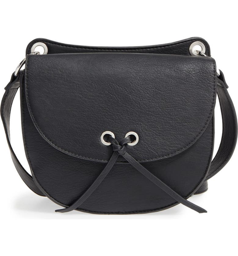 BP. Faux Leather Crossbody Bag, Main, color, 001