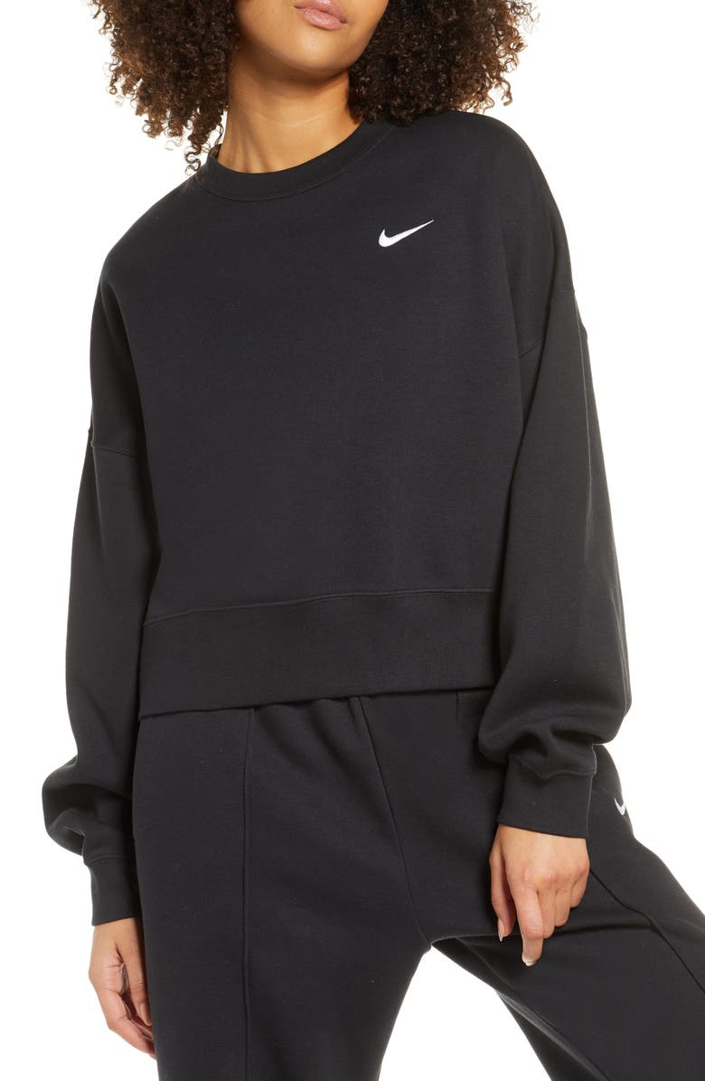 NIKE Sportswear Crewneck Sweatshirt, Main, color, 010