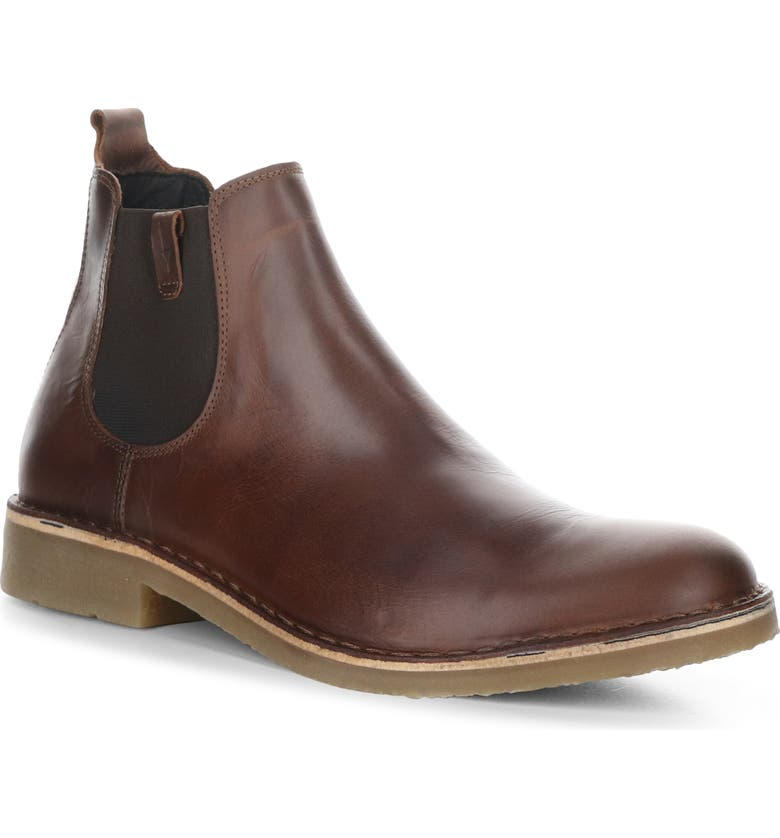 FLY LONDON Roni Chelsea Boot, Main, color, BRANDY ESSA METAL FREE