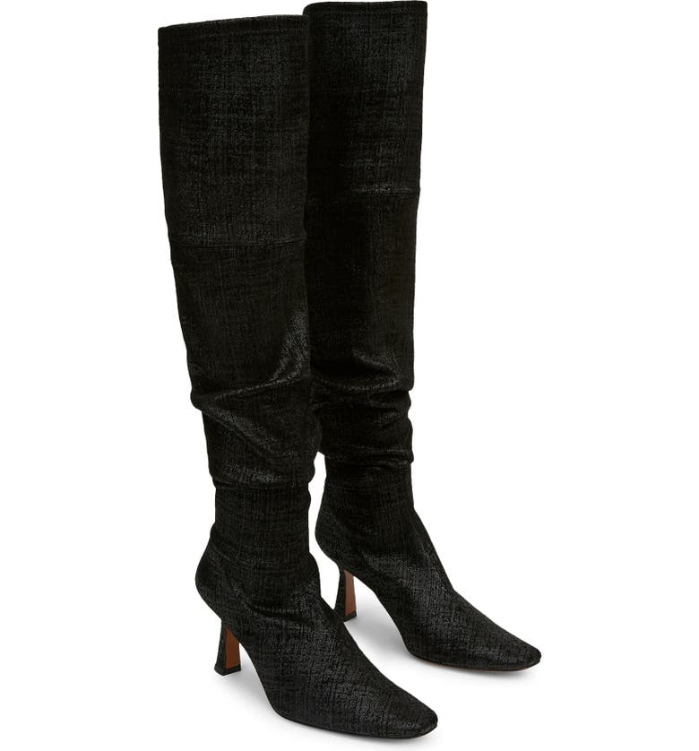 LAFAYETTE 148 NEW YORK Pia Over the Knee Boot, Main, color, 001