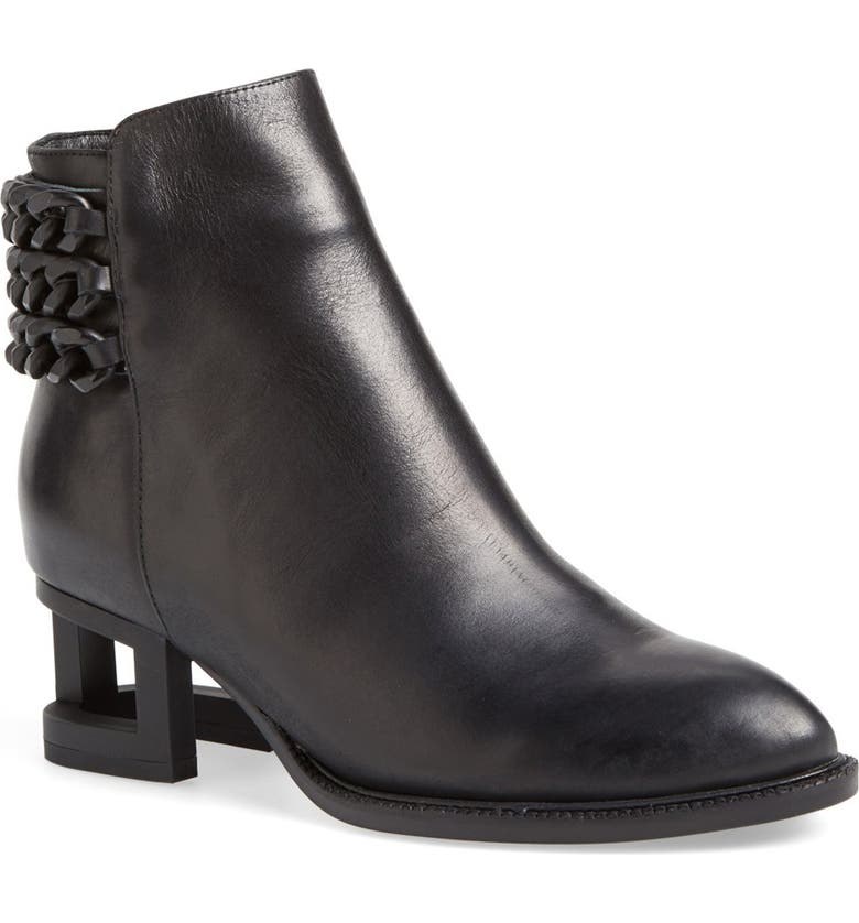 JEFFREY CAMPBELL 'Benicio' Ankle Boot, Main, color, 001