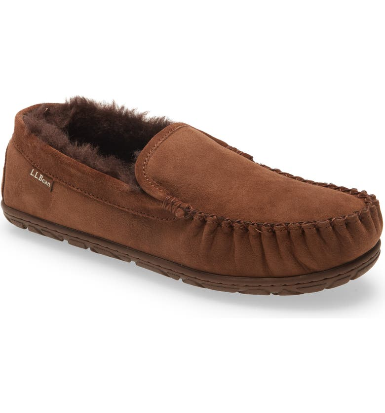 L.L.BEAN Wicked Good Venetian Moccasin, Main, color, CHOCOLATE