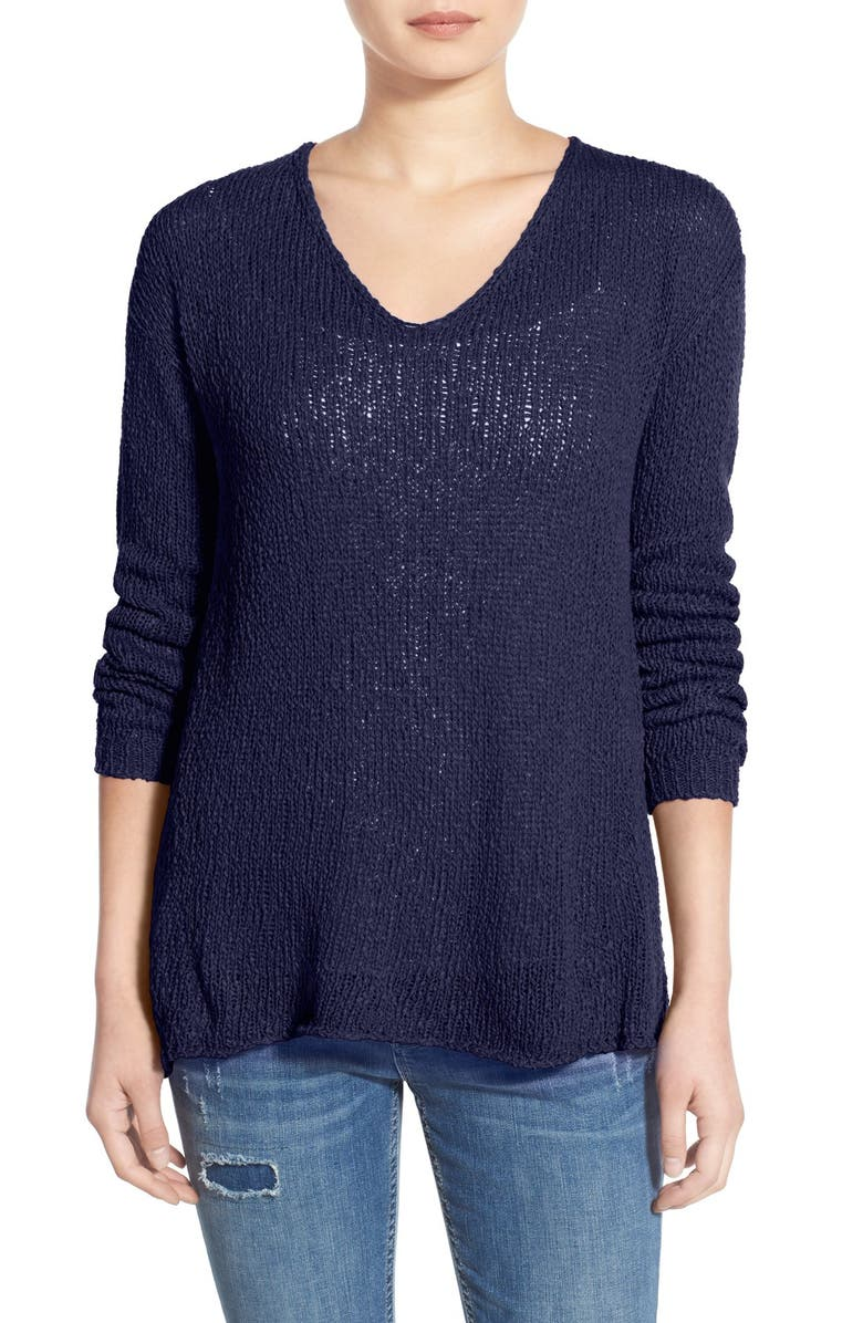 BP. V-Neck Pullover Sweater, Main, color, 410