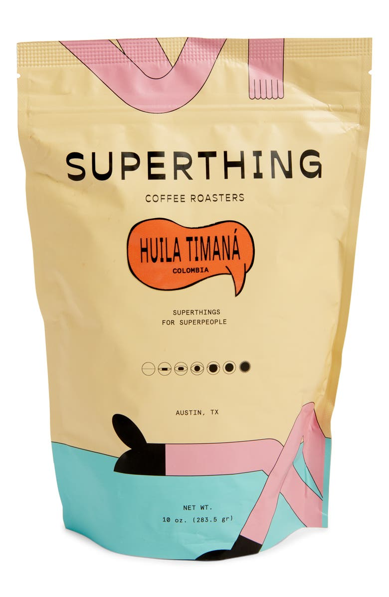 SUPERTHING Huila Timaná Colombian Whole Bean Coffee, Main, color, 000