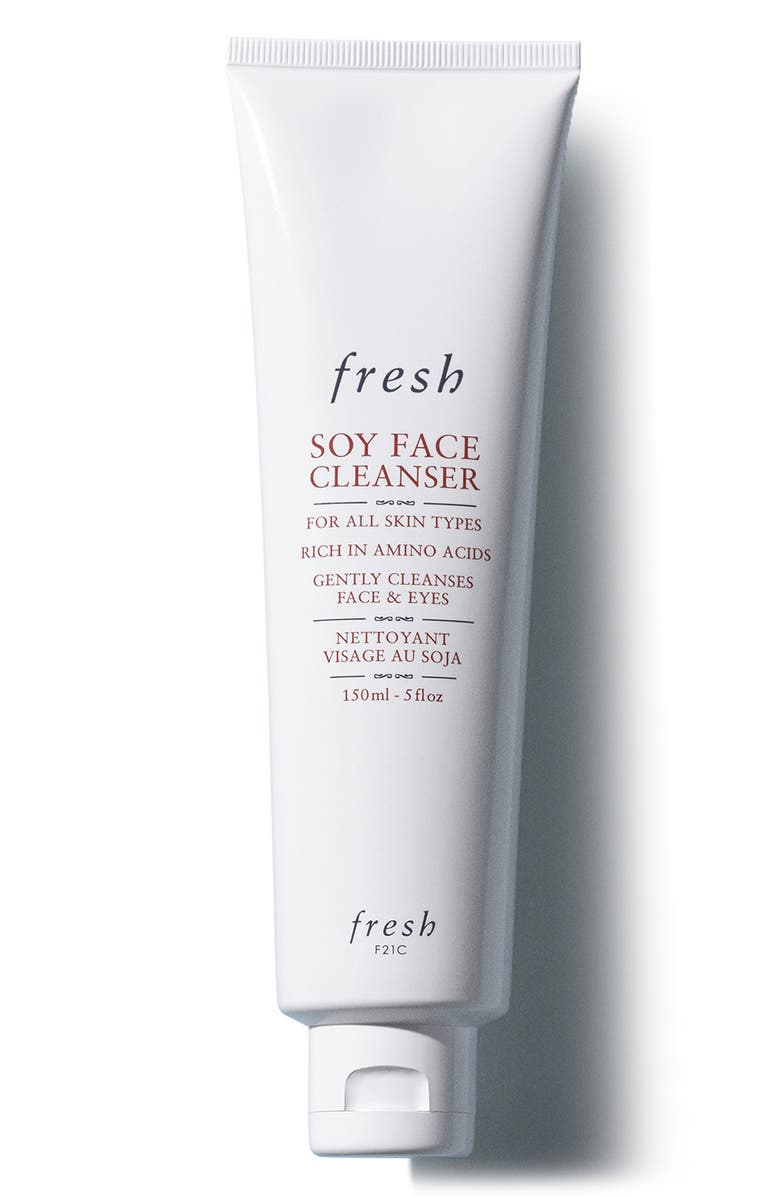 FRESH<SUP>®</SUP> Soy Face Cleanser Makeup Removing Face Wash, Main, color, NO COLOR