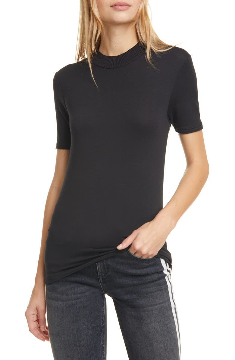 RAG & BONE Surplus Crewneck Tee, Main, color, 001