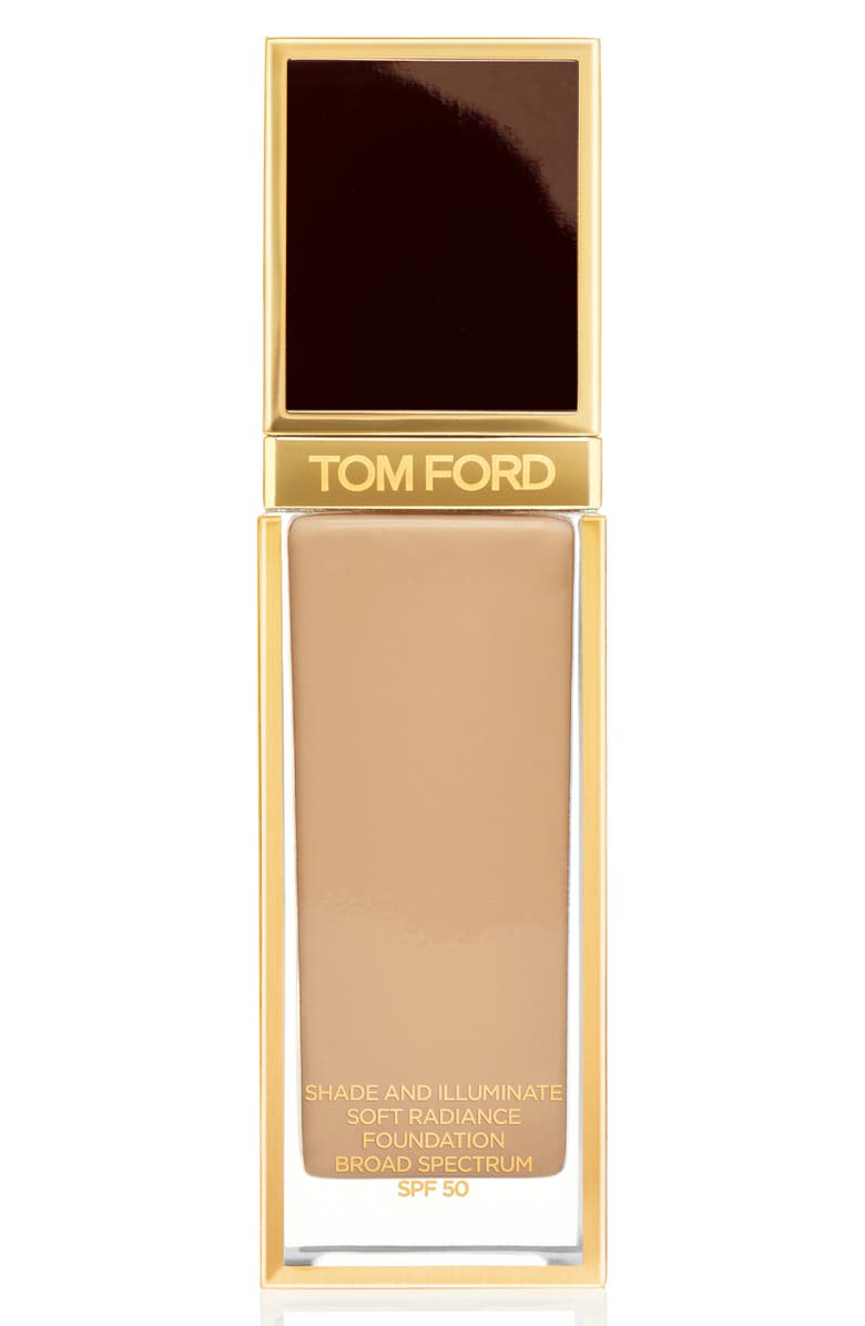 TOM FORD Shade and Illuminate Soft Radiance Foundation SPF 50, Main, color, 7.0 TAWNY