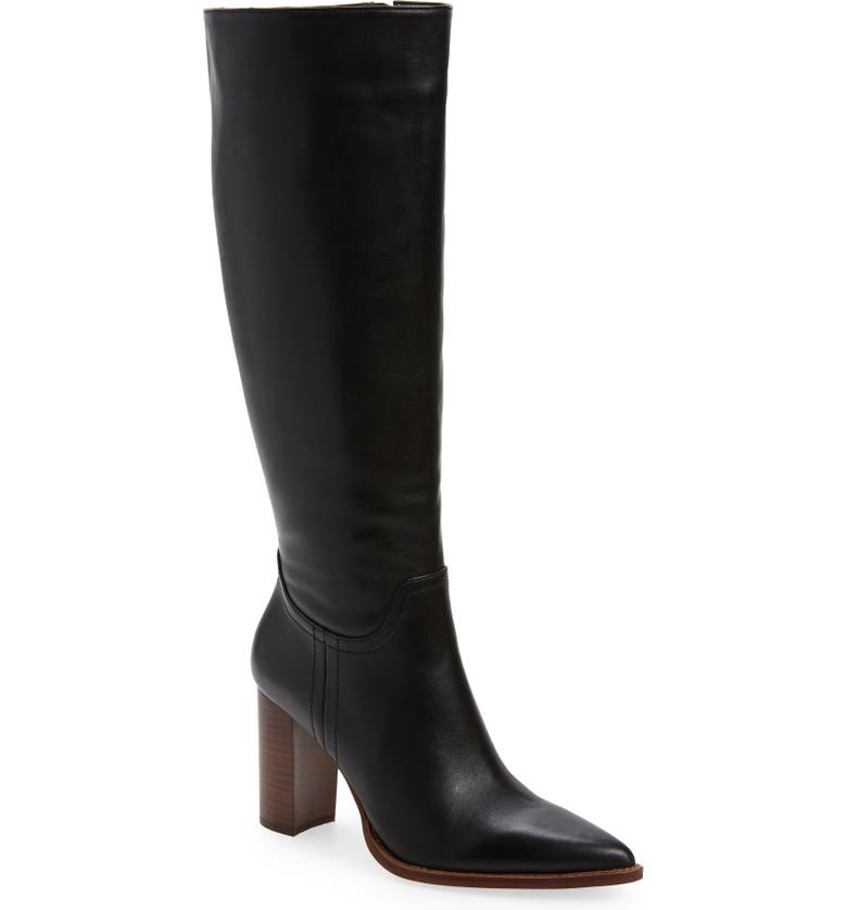 VINCE CAMUTO Eckina Knee High Boot, Main, color, BLACK 01
