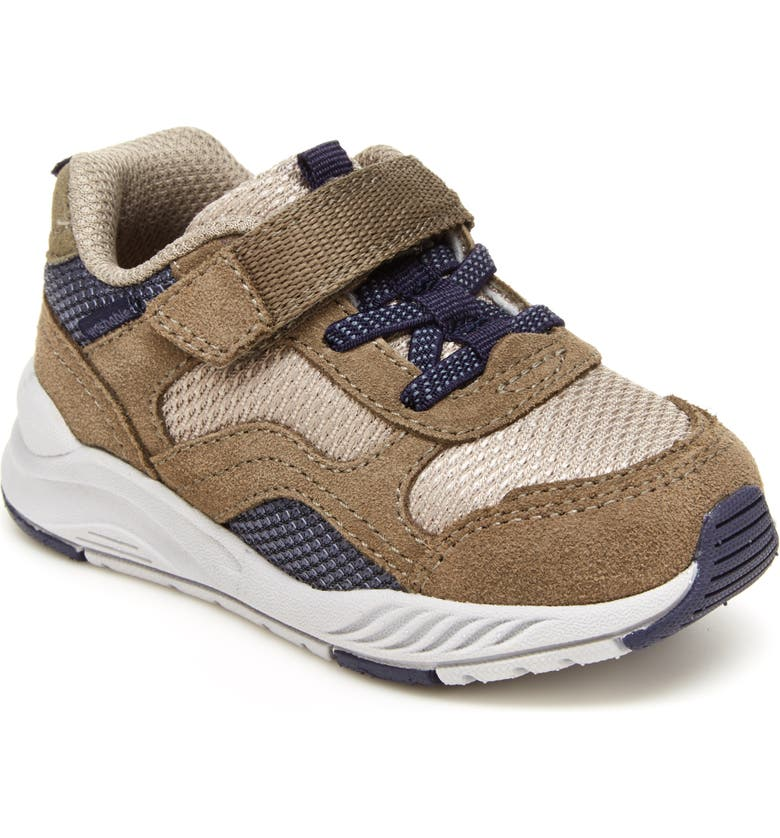 STRIDE RITE Made2Play<sup>®</sup> Brighton Sneaker, Main, color, TAUPE