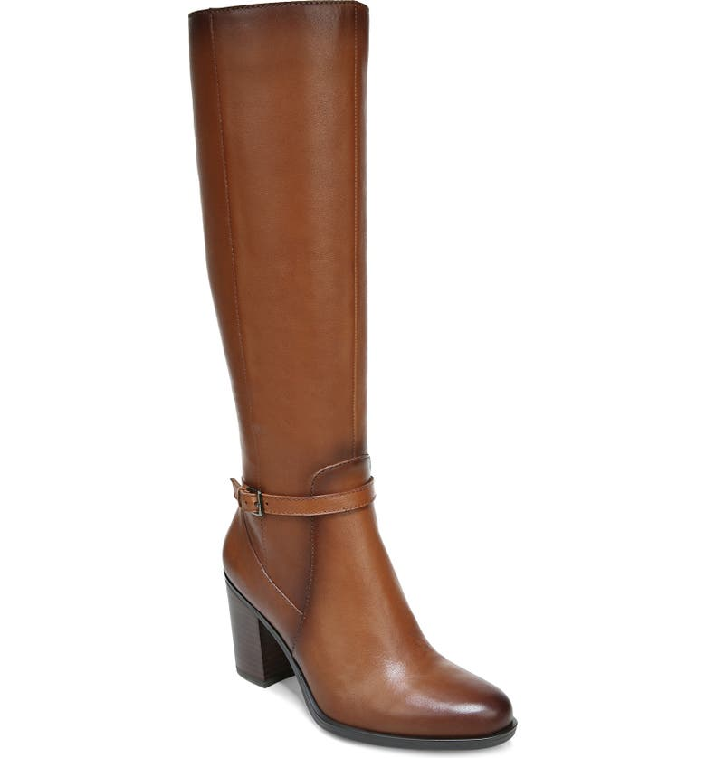 NATURALIZER Kalina Boot, Main, color, CIDER SPICE LEATHER