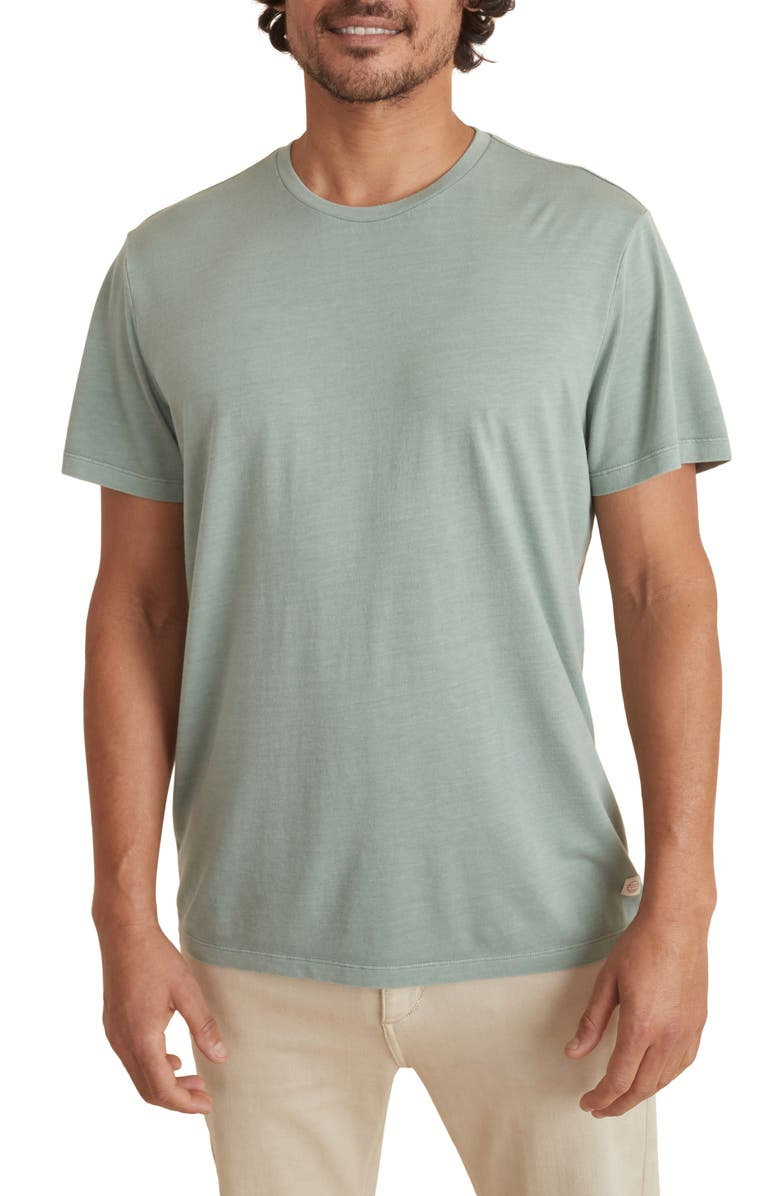 MARINE LAYER Signature Slub T-Shirt, Main, color, OLIVE
