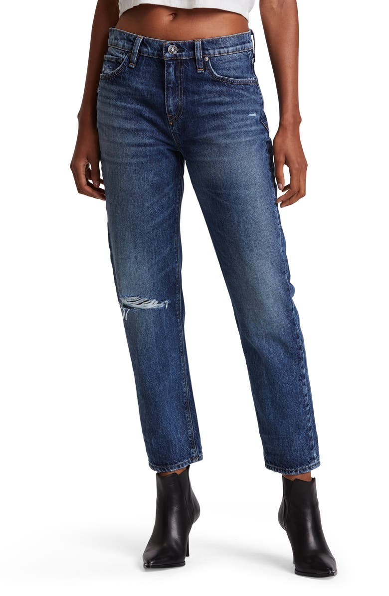 HUDSON JEANS Jessi High Waist Nonstretch Relaxed Boyfriend Jeans, Main, color, 420