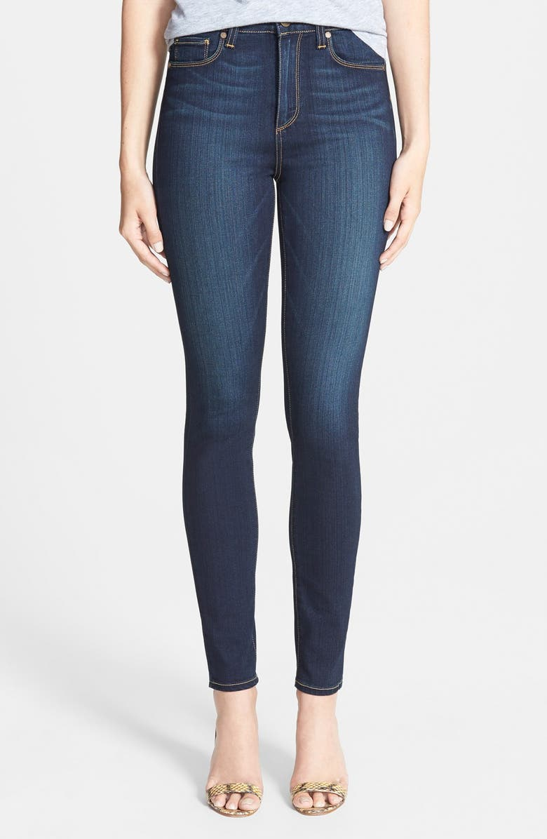 PAIGE 'Transcend - Margot' High Rise Ultra Skinny Stretch Jeans, Main, color, 400