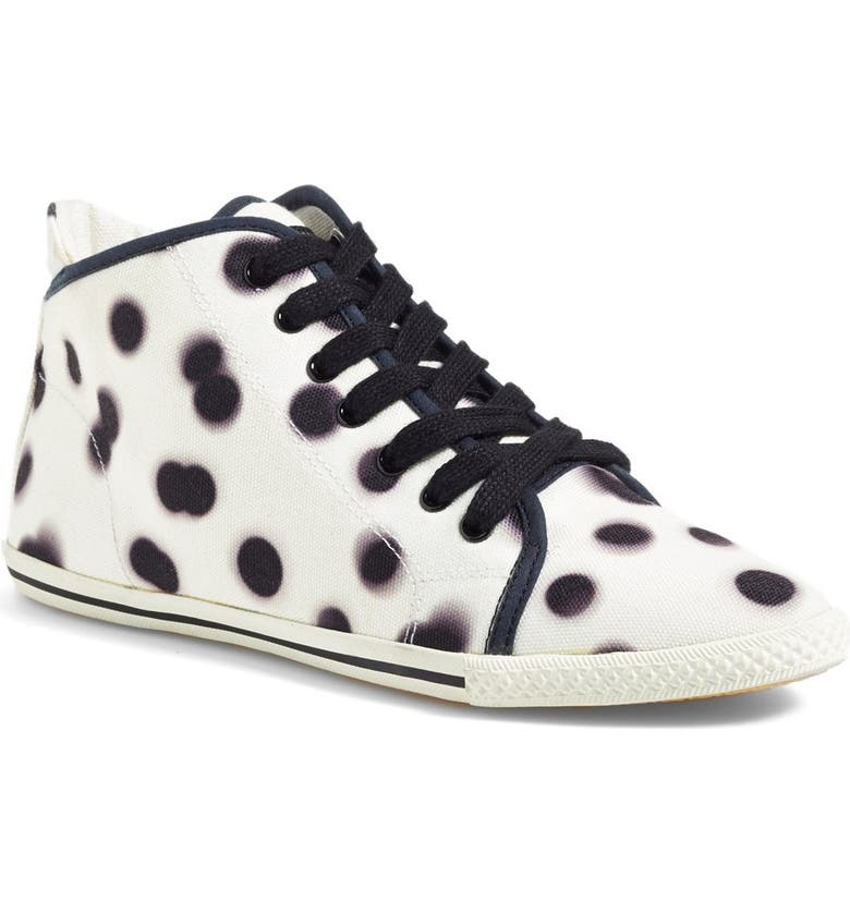 MARC JACOBS MARC BY MARC JACOBS Print High Top Sneaker, Main, color, 111